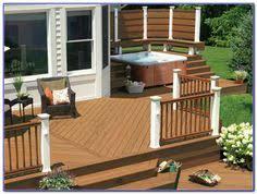 tub w ironwood decking u0026 gazebo u0026 alumarail buildstrong