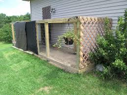 fencing for chicken run partially built fenced enclosure next