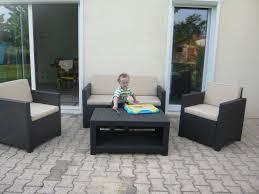 salon de veranda en osier beautiful salon de jardin tresse groupon photos amazing house