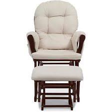 Espresso Rocking Chair Nursery Nursery Rocking Chair Ottoman Set Baby Furniture Nursing Glider