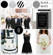 black and white wedding ideas bride link