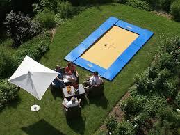 Trampoline Backyard In Ground Trampoline For The Backyard U2013 Super Fun Outdoor