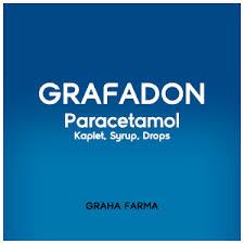 Obat Grafadon grafadon paracetamol kaplet syrup drops oatoatan