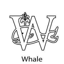 whale free alphabet coloring pages alphabet coloring pages of