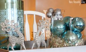 silver centerpieces silver blue christmas centerpiece two twenty one