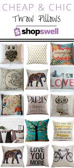 Chic Fabulous and cheap Throw Pillows