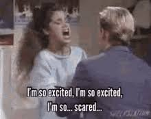 Im So Excited Meme - im so excited saved by the bell gifs tenor