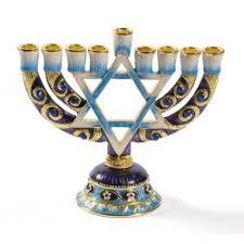 pewter menorah 9 branch menorahs for his judaica messianic and christian