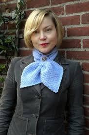 knitting pattern bow knot scarf ascot keyhole bowtie scarf free knitting and crochet pattern