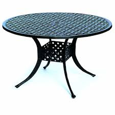 Outdoor Round Patio Table Newport Dining Set By Hanamint