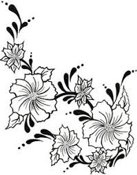 design flower rose drawing flower design drawing at getdrawings com free for personal use