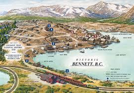 Yukon River Map Walking Tour Map
