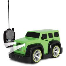 jeep unlimited green nkok junior racers my first r c jeep wrangler unlimited walmart com