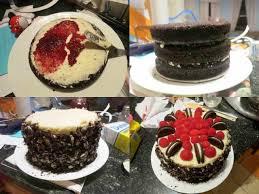 chocolate raspberry birthday cake u0027s frosting