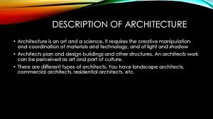 what are the different styles of residential architecture edwin chavez how to architect description of architecture