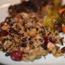 rice with apples herbs and bacon ѽcq glutenfree