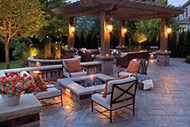 Outdoor Lighting Patio Outdoor Lighting Trends Rock Solid Landscape Company