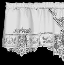 Black Lace Valance Valances Lace Curtain Store