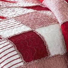 Red And Cream Duvet Cover Cream Gingham Cot Bed Duvet Cover Sweetgalas Red Gingham Bedding