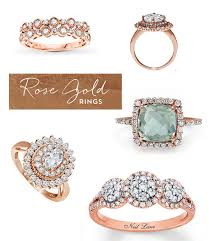 Jared Wedding Rings by Rose Gold Heirloom Engagement Rings From Jared Green Wedding