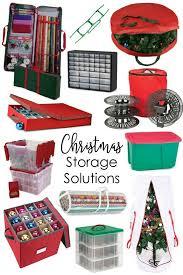 decoration sterilite adjustable ornament storage