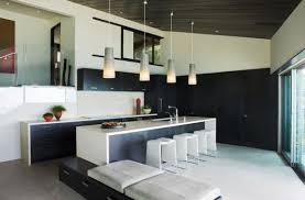 modern pendant lights for kitchen island kitchens minimalist kitchen with white kitchen island