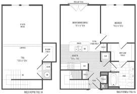 Simple 3 Bedroom Floor Plans by Home Design 2 Bedroom House Simple Plan Floor Plans Image Inside