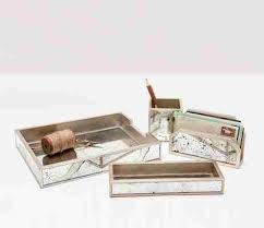 Silver Desk Accessories Pigeon Poodle Positano Silver Desk Accessories Gracious Style