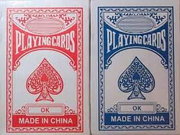 cheap decks of cards z novelties