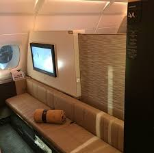 Etihad First Apartment Review Etihad First Class Apartment A380 Abu Dhabi To Sydney