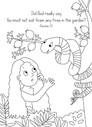 bible key point coloring page sneaky snake online preschool