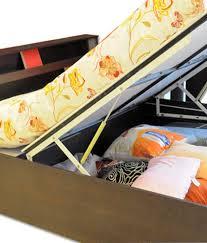 Double Bed In Mumbai Price Mobel Reva 402 Double Bed With Hydraulic Storage Buy Mobel Reva