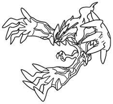 yveltal pokemon x y lineart by mariicreations93 on deviantart