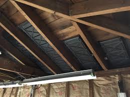 Detached 2 Car Garage Insulation Ceiling For Detached 2 Car Garage