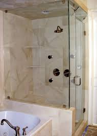 fine shower enclosures tiled walls doors inside decorating