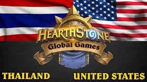 Thailand Round Flag Hearthstone Global Games Thailand Vs United States Youtube