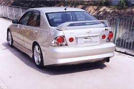 lexus altezza is200 sa style frp rear bumper fit for altezza is200 buy rear bumper