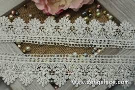 wide lace ribbon guipure lace trim with pattern venise lace trim