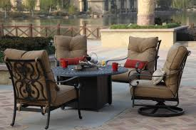 Patio Furniture Set With Fire Pit Table - 20 outdoor patio furniture with fire pit nyfarms info