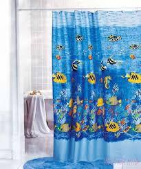 bathroom shower fish shower curtains create an exhilarating