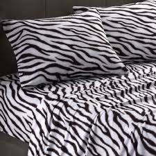 Zebra Print Duvet Cover Safari Zebra Home Accents Touch Of Class