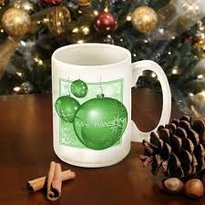 mug ornament personalized christmas ornament coffee mug