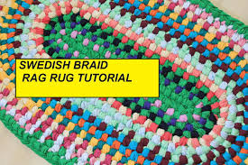 Crochet A Rag Rug Pdf Tutorial Swedish Braid Rag Rug Aka Double Toothbrush Rug