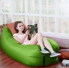 Blow Up Beach Chair by Inflatable Sofa Air Bed Chair Seat Blow Up Lounger Bag Camping