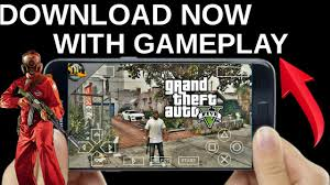gta 5 android gta 5 official in ppsspp now with proof in android 1000