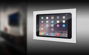 How To Mount Ipad To Wall Iwalldock In Wall Tablet Mounting System