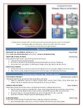 Sample Online Resume by Reader Bonus Online Resume Samples