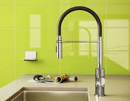 Pull Out Spray Kitchen Faucets Zest Nero Single Hole Kitchen Faucet With Pull Out Spray Faucets