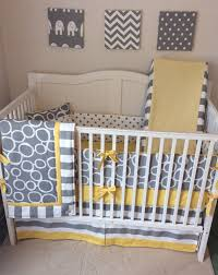 Yellow And Gray Crib Bedding Set 10 Best Navy Gray And Yellow Nursery Ideas For A Boy Images On