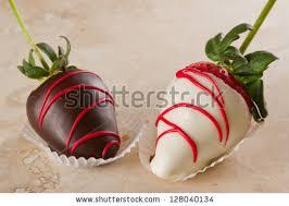 White Chocolate Covered Strawberries Chocolate Covered Strawberries Stock Images Royalty Free Images